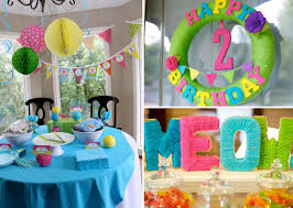 first birthday home decorations