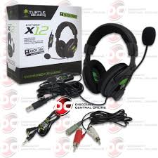 similiar what what are turtle beach x12 wires keywords turtle beach x12 ear force wired amplified surround gaming headset pc