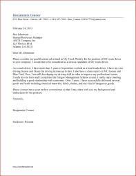 Cover Letter For Driver Helper Delivery Driver Cover Letter Sample
