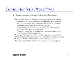 causal analysis co causal analysis
