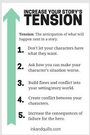 best tips for writing ideas writing inspiration it s like giving your characters a goal and then placing blocks in their path to