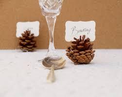 Pine Cone Wedding Table Decorations Wedding Accessories Ideas