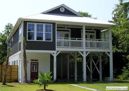 Design house plans on pilingsCoastal home plans at coolhouseplans