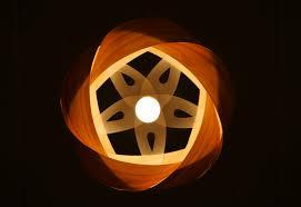 wood veneer lighting. wood veneer light shade wrap lighting m