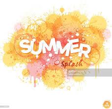 summer splash clipart. Simple Clipart Summer Splash Aquarelle Fond  Clipart Vectoriel For