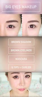 makeup tips for asian women beginners bigger eyes makeup tutorial perfect for hooded eyes asian eyes wengie simple step by step