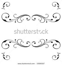 Scroll Banner Vector Scroll Banner Design With Flourish