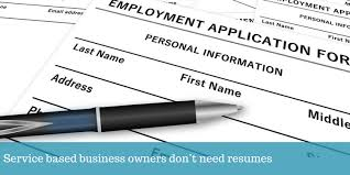 Virtual Resumes Do Online Business Owners Need A Resume Virtual Infinity