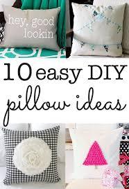 easy pillow designs. diy pillow ideas easy designs c
