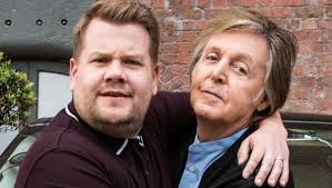 It's in the sixties, and it's hippie culture, and there's a war. James Corden On Latest London Trip For Late Late Show Paul Mccartney