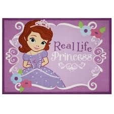 Sofia The First Bedroom Accessories Disney Jr Sofia The First Real Princess Area Rug Size 3 X 5 Ft