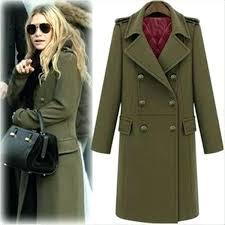 military style coat womens jacket women zipper autumn military style lady coat jackets and tops by