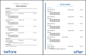 10 resume updates in 10 minutes or less brill street resume formatting updates