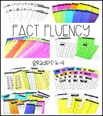 Math Fact Fluency Tunstalls Teaching Tidbits