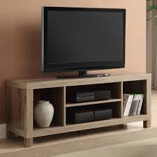 flat furniture. Tv Stand Table For Flat Screen Living Room Furniture With Shelves Wood Weathered