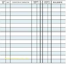 Printable Check Register For Checkbook Free Excel Checkbook Register Printable Check Register Free