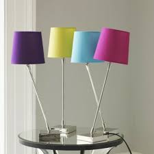table lamps floor lamps design colored lamp shade bedside lamp