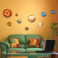 Solar System Bedroom Decor Solar System Stickers Bedroom Decor Page 2 Pics About Space