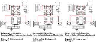 blue seas vsr wiring diagram the 12 volt shop blue sea 5511 dual circuit plus specifications