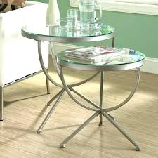 end tables glass innovative glass end table set metal and diameter round tables saw top tables end tables glass