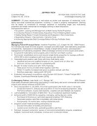Apartment Manager Resume Sample Property Manager Resume Sample ...