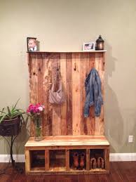 Pallet Coat Rack Bench Custom Made to Order Reclaimed Pallet Wood by Palletinnovation 2