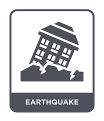 The image is png format and has been processed into transparent background by ps tool. Earthquake Icon In Trendy Design Style Earthquake Icon Isolated On White Background Earthquake Vector Icon Simple And Modern Stock Vector Illustration Of Wave Crisis 135748533