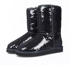 Ugg Classic Short Sparkles Boots 3161 Black