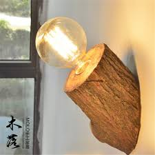 Wood Sconce Light Led Wall Lights Wall Sconce Light Fixture Up Down Wood Style