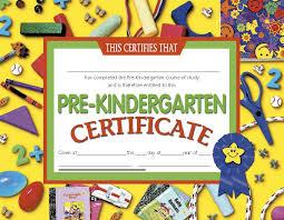 Prek Diploma Pre K Certificate Templates Kindergarten Awards Certificates