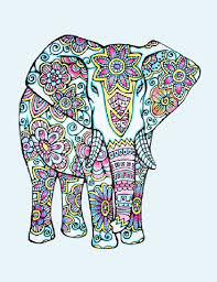 Small Picture Elephant Mandala Coloring Book Coloring Coloring Pages