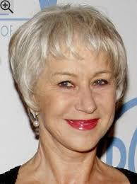 pixie cut for white hair pixie cut for older women