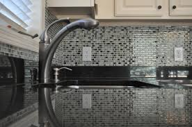 Backsplash Tile For Kitchen Top Kitchen Backsplash Glass Tile Glass Mosaic Tile Backsplash
