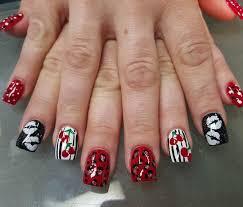 29+ Red Acrylic Nail Art Designs , Ideas   Design Trends - Premium ...