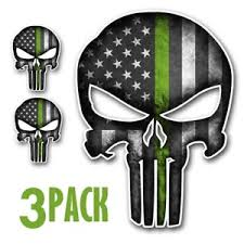 2 punisher skull (blue line) tactical morale badges patch (free & fast shipping). Punisher Skull Green Line Grey Thin Green Line Punisher Skull Slouch Beanie Hat Etsy 2564 Punisher Skull 3d Models Alona Severs