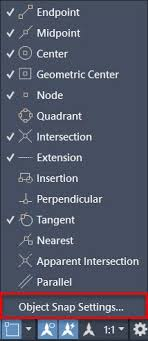 How do i draw a section line in autocad ? Object Snap And How To Use It In Autocad