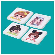 4 Pack <b>Mask</b> Storage Box Portable <b>Mask</b> Case <b>Cute Storage Bag</b> ...