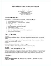 Chiropractic Assistant Resume Custom ☜ 48 Certified Medical Assistant Resume