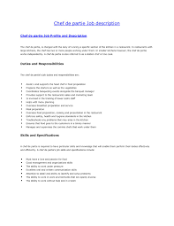 Cooking Instructor Job Description Cooking Job Description Cook