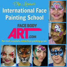 international face painting school the most complete face painting guide