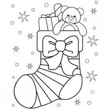 Christmas Stocking Coloring Page Free Christmas Recipes Coloring