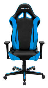 gaming chairs dxracer.  Chairs DXRacer  Racing Series Gaming Chair BlackBlue OHRZ0NB  Throughout Chairs Dxracer