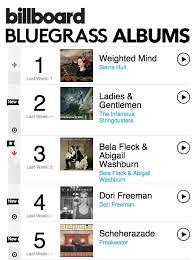 Billboard Bluegrass Chart Freakwaters Scheherazade Debuts At 5 On The Billboard