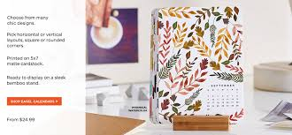dress up your desk with a fresh look each month