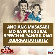 """Bernadette Dimas on Twitter: """"The speech was very well said and it ..."""