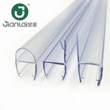 china frameless glass door rubber strip