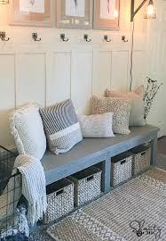 diy farmhouse bench free plans