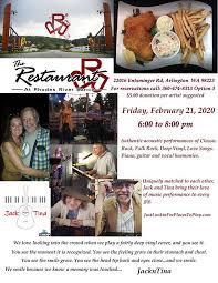 Jack 'n' Tina   Rhodes River Ranch Restaurant