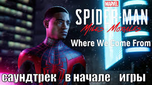 Where We Come From (<b>OST</b>) - <b>Spider-Man</b> Miles Morales - YouTube