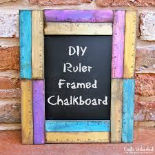 supplies needed to make your own ruled framed diy chalkboard supply2